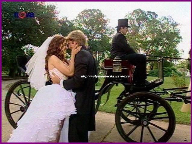 В диком ангеле серия свадьба с пабло